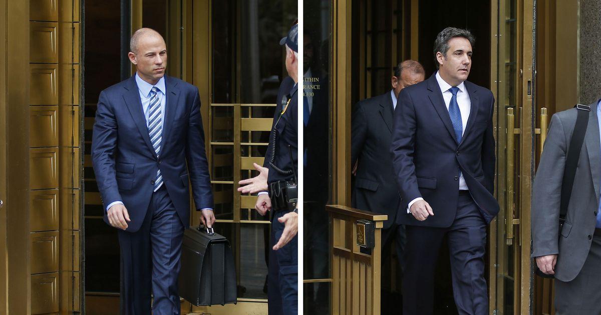 Michael Cohen and Michael Avenatti Had a Bad Day in Court