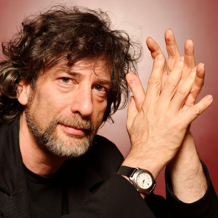 Neil Gaiman Portrait Session