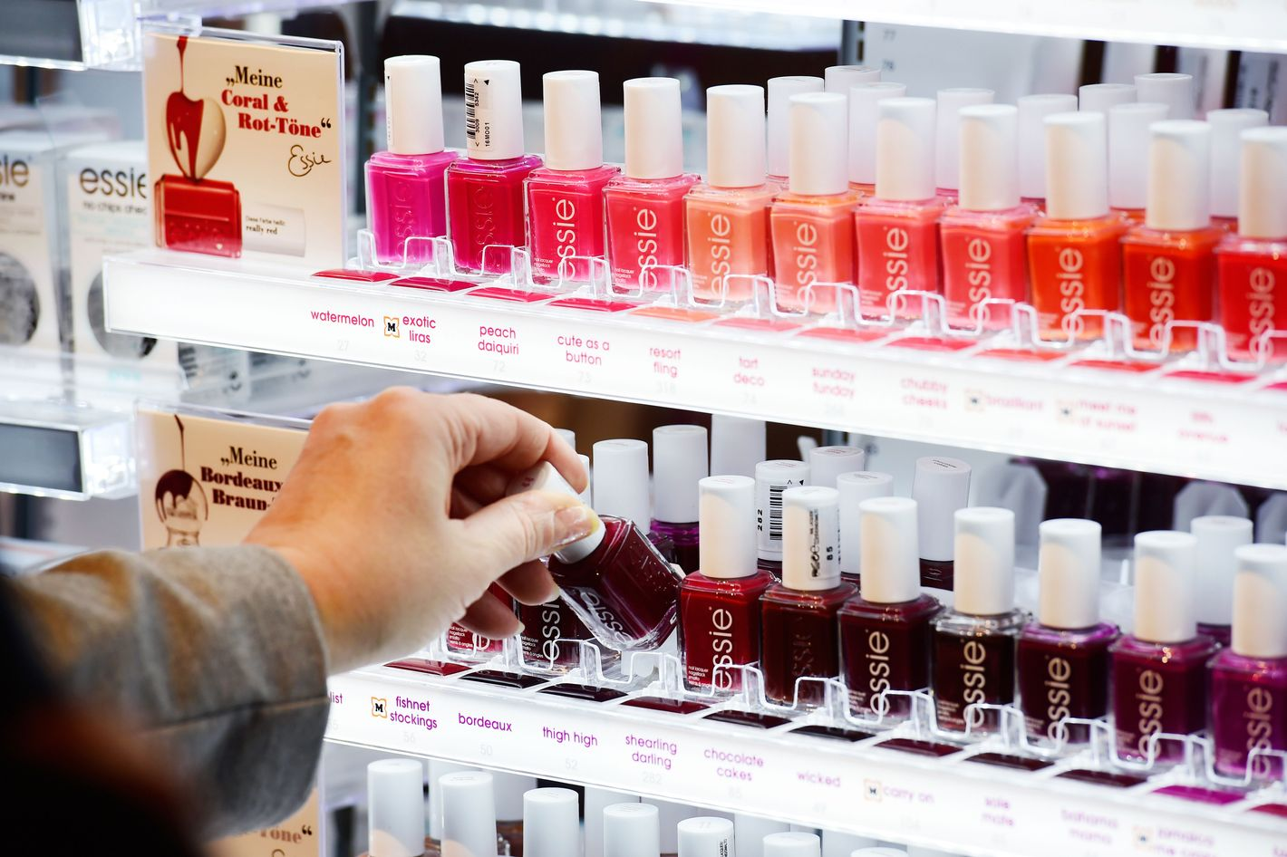 They Finally Identified New York\'s Essie Nail Polish Thief