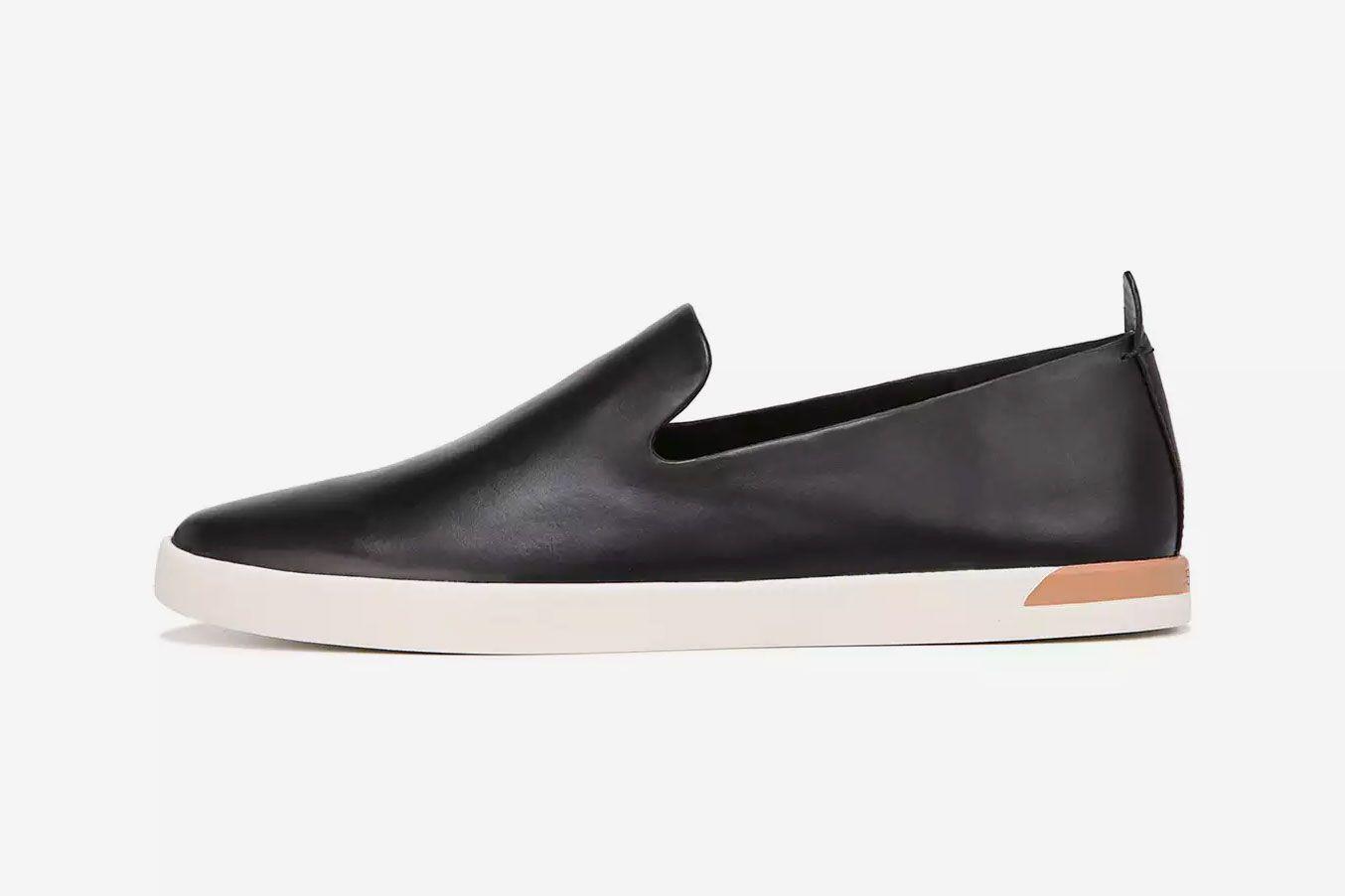 Vince Vero Calf Slip-On Sneakers