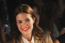 NEW YORK, NY - SEPTEMBER 08:  Actress Mandy Moore attends Boy and Girl by Band of Outsiders Spring at the St. John's Center Studios on September 8, 2012 in New York City.  (Photo by Fernando Leon/Getty Images)