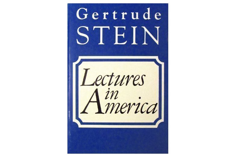 Lectures in America by Gertrude Stein