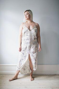 Made-to-order in Copenhagen Coretta Slip Silk Dress
