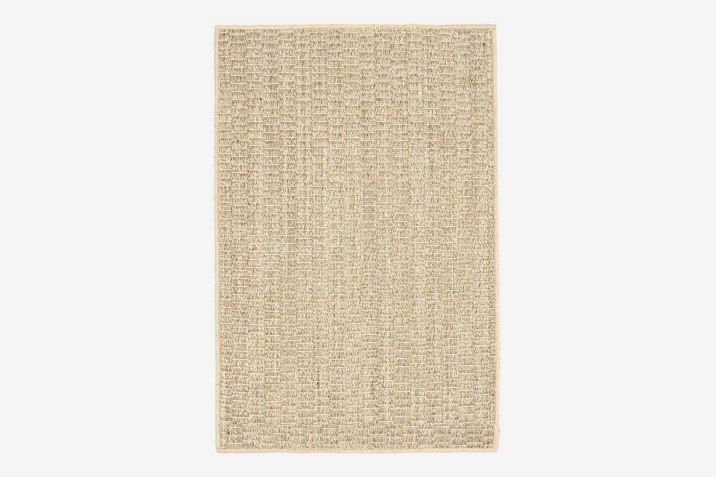 Dash and Albert Wicker Sand Woven Sisal Rug