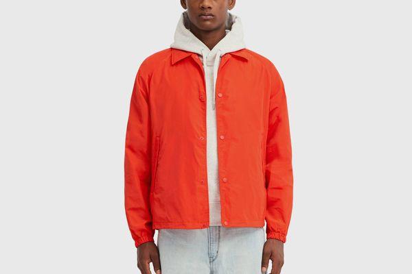 Men U Pocketable Coach Jacket