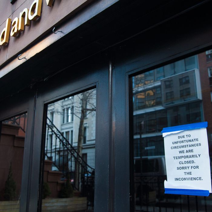 Manhattan's Pure Food and Wine is closed for the second time this year.