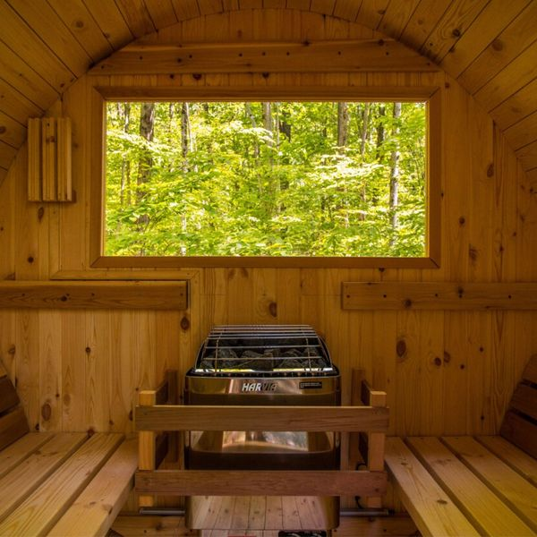 Modern Upstate Escape With Outdoor Sauna