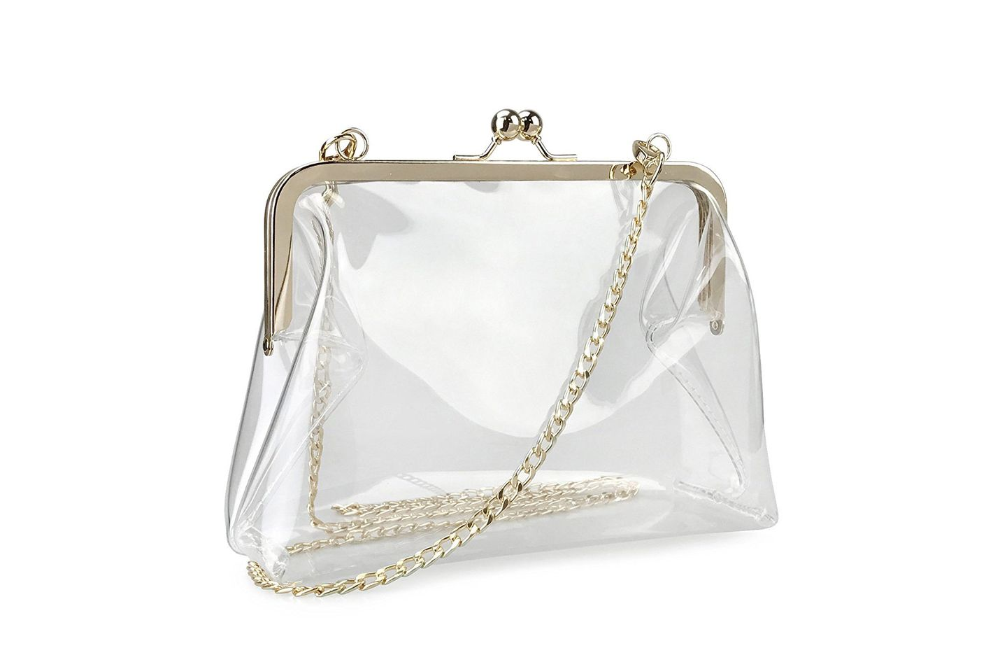 Hoxis Clear Chain Cross-Body Bag