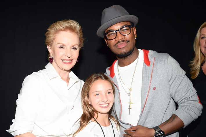 Carolina Herrera and Ne-Yo.