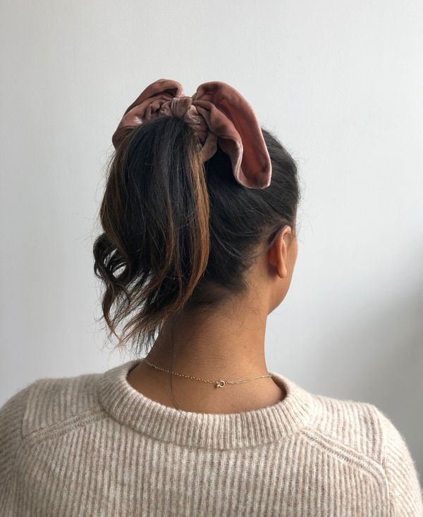 LOVESHACKFANCY bow scrunchie
