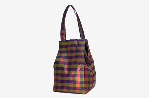 Coming of Age Iridescent Navy Tote Bag