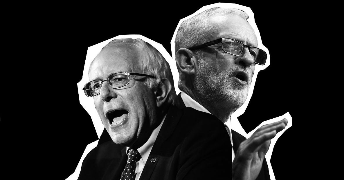 Is Bernie the American Version of Jeremy Corbyn? Gulp.