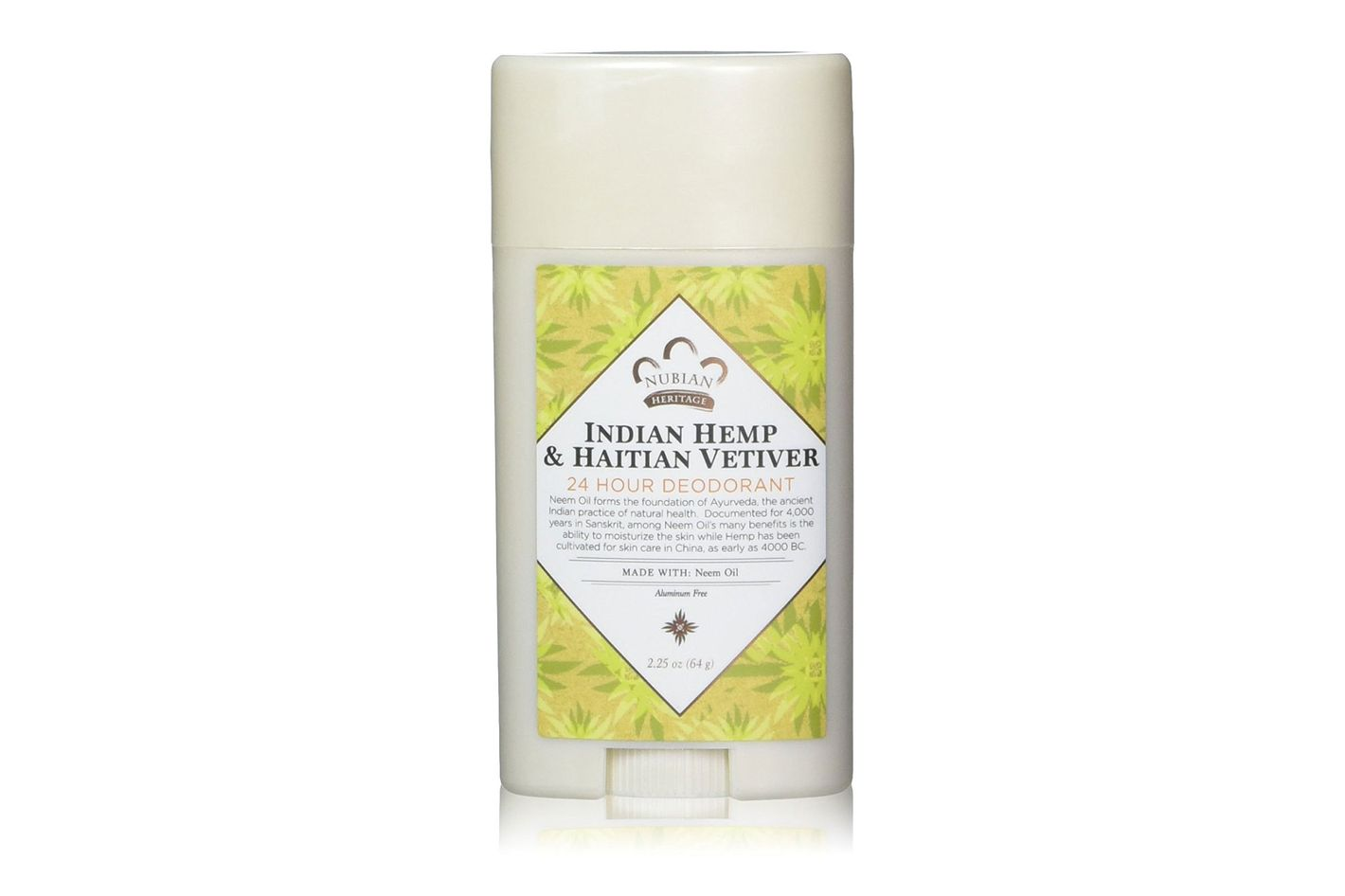 Nubian Heritage Indian Hemp & Haitian Vetiver Deodorant