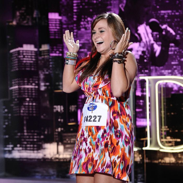 AMERICAN IDOL: Texas contestant Skylar Laine performs in front of the judges on AMERICAN IDOL airing Thursday, Jan. 26 (8:00-9:00 PM ET/PT) on FOX.