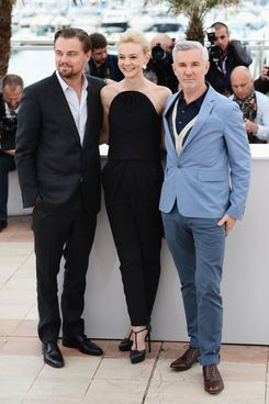 CANNES, FRANCE - MAY 15:  (L-R) Actors Leonardo DiCaprio, Carey Mulligan and director Baz Luhrmann attend the photocall for 'The Great Gatsby' at the 66th Annual Cannes Film Festival at Palais des Festivals on May 15, 2013 in Cannes, France.  (Photo by Venturelli/WireImage)