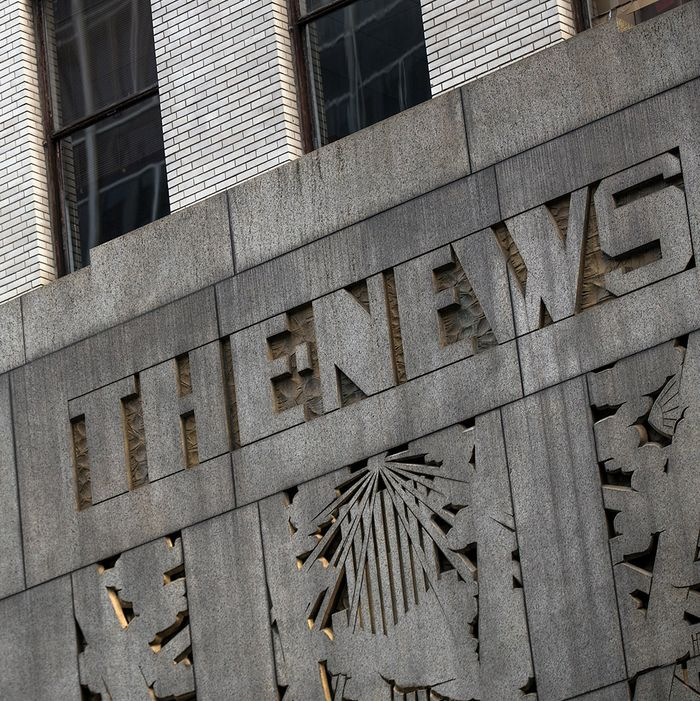 Top New York Daily News Editor Accused Of Harassment