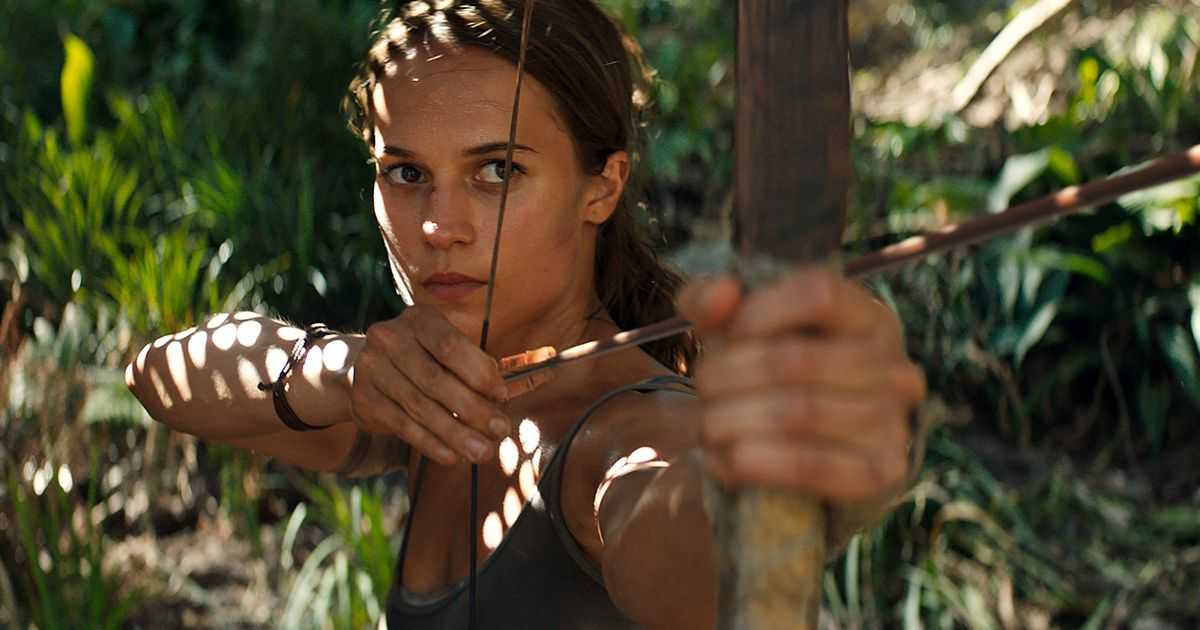 Lara Croft Rebooted The Tomb Raider Is Back In New Movie