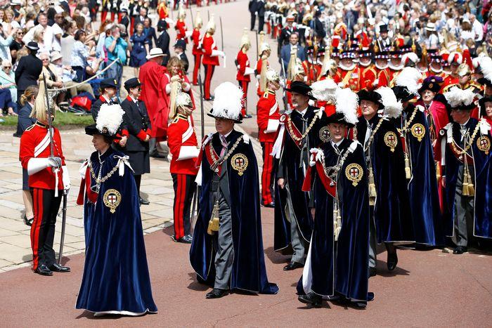 Garter Day procession.