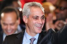 CHICAGO, IL - FEBRUARY 24:  Chicago Mayor Rahm Emanuel greets supporters at an election day rally February 24, 2015 in Chicago, Illinois. Emanuel was hoping to win re-election tonight but he fell short of the votes needed to avoid a runoff election.  (Photo by Scott Olson/Getty Images)
