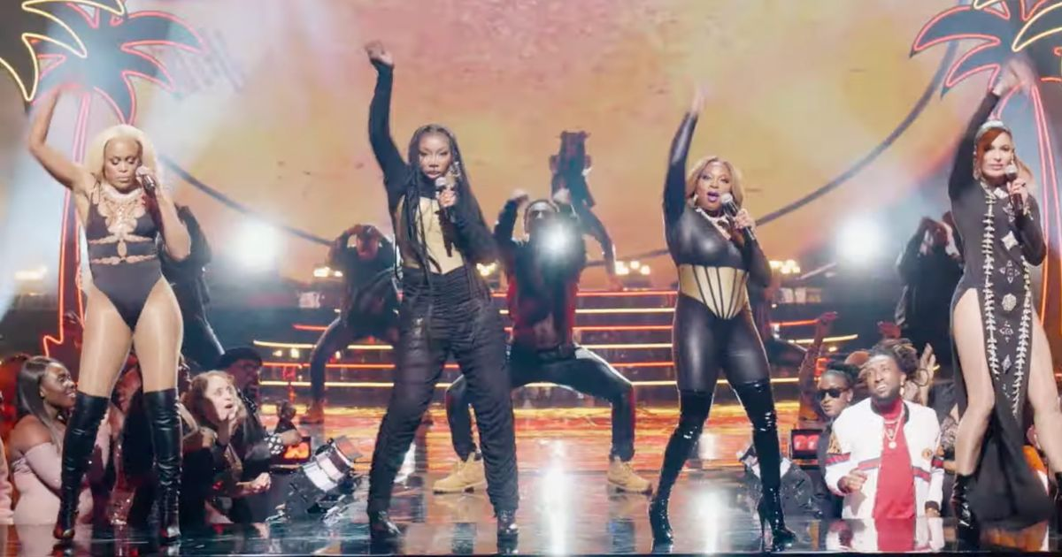 ABC 'Queens' Eve, Brandy, Naturi and Nadine 'Nasty Girl' Video Has Dropped [VIDEO]