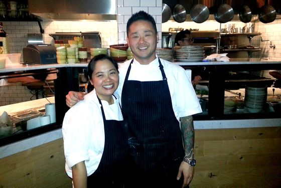 "With Peggy Hong, the chef who will oversee daily operation at Wildcraft while Vuong attends to Abigaile and ""a few new projects."""