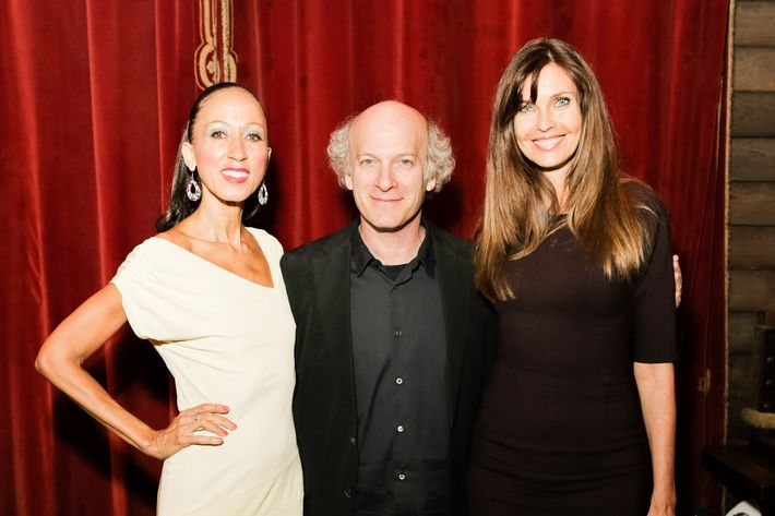 Pat Cleveland, Timothy Greenfield-Sanders, and Carol Alt.