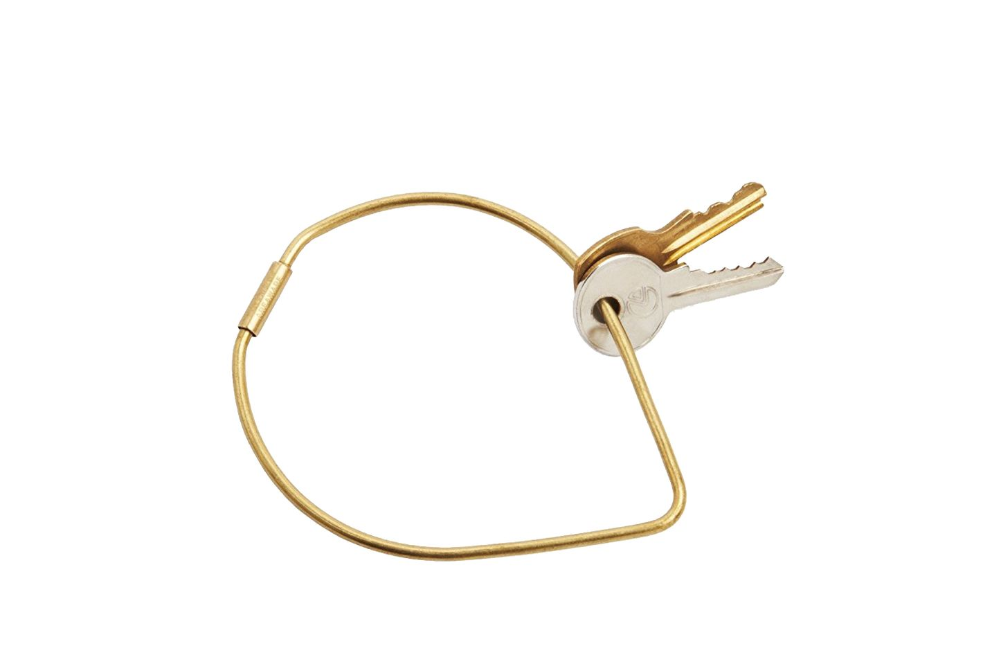 Areaware Contour Key Ring, Drop