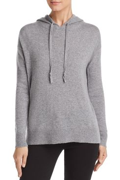 C by Bloomingdale's Cashmere Pullover Hoodie