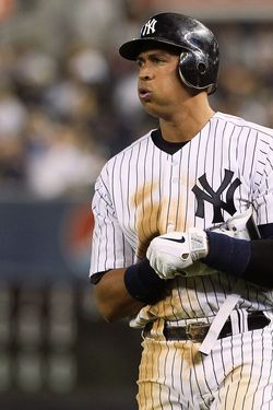 NEW YORK, NY - JUNE 24:  Alex Rodriguez #13 of the New York Yankees looks on after grounding out to end the eighth inning against the Colorado Rockies on June 24, 2011 at Yankee Stadium in the Bronx borough of New York City.  (Photo by Jim McIsaac/Getty Images)