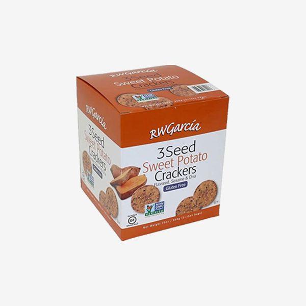 RW Garcia Sweet Potato 3-seed Crackers