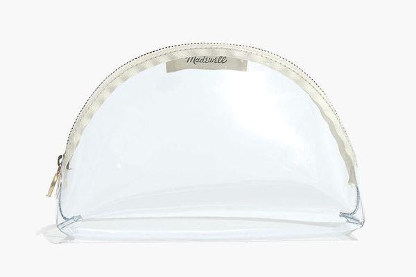Madewell Small Crystalline Half-Moon Pouch