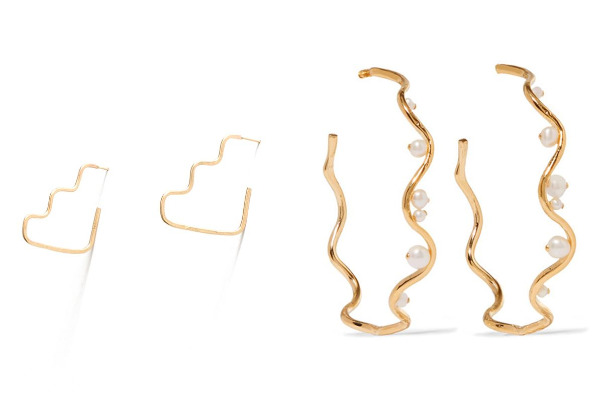 WKNDLA Step Shape Earrings