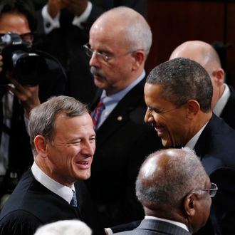 Chief Justice of the U.S. John Roberts