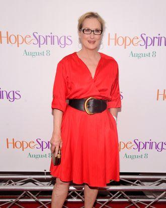 Meryl Streep attends the