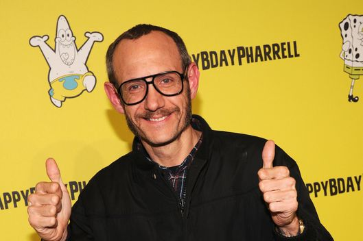 Photographer Terry Richardson attends the SpongeBob SquarePants themed, 41st birthday party for Pharrell Williams  at Bikini Bottom at Cipriani Wall Street on April 4, 2014 in New York City.
