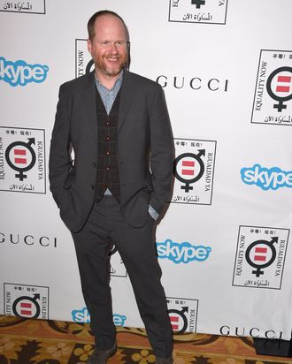 BEVERLY HILLS, CA - NOVEMBER 03: Joss Whedon arrives at the Equality Now's