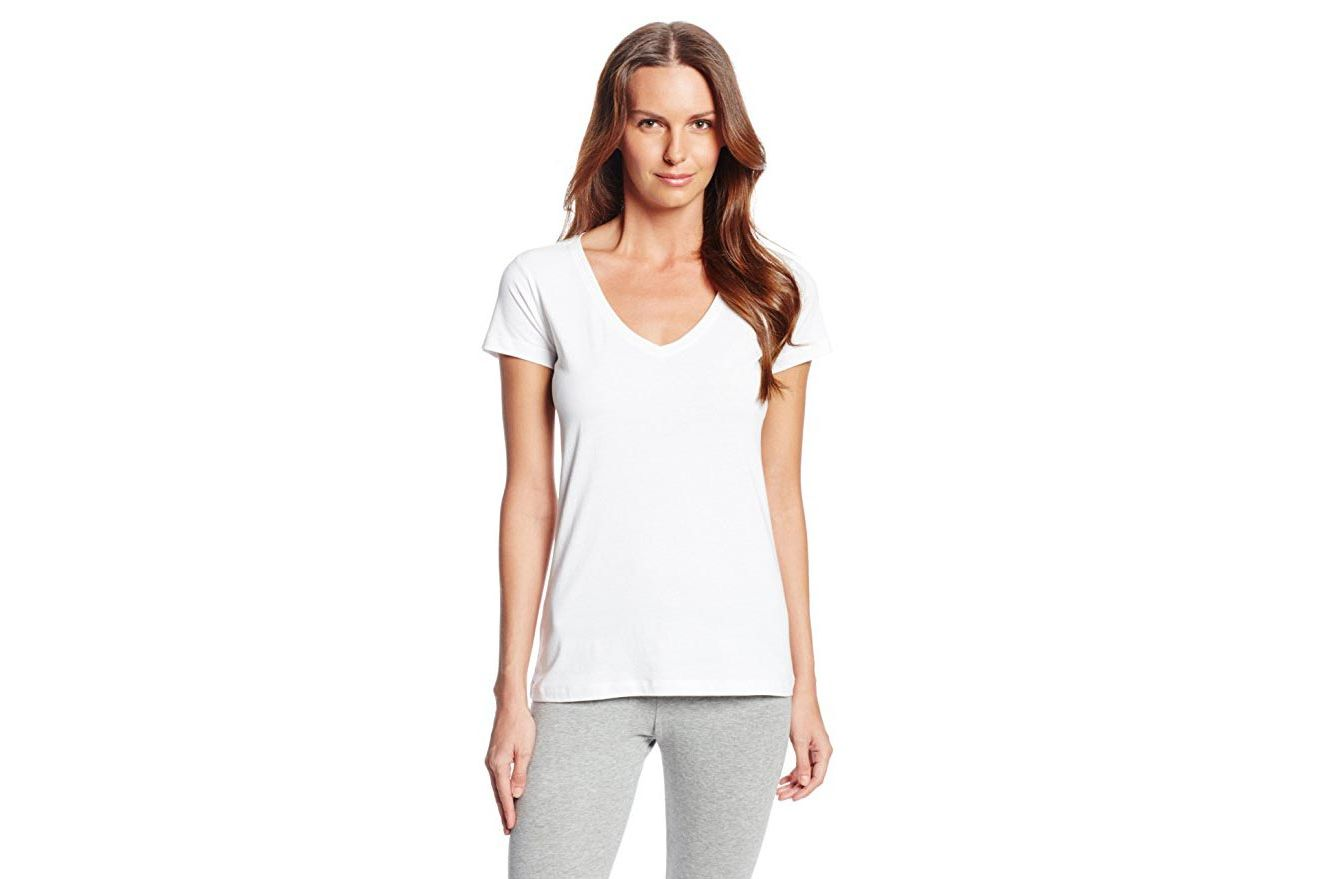 White t shirt for womens - For Wearing Under A Dress