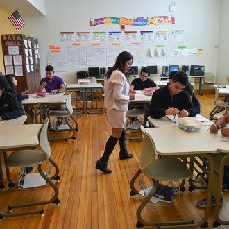 WASHINGTON, DC - SEPTEMBER 23: The International Academy math