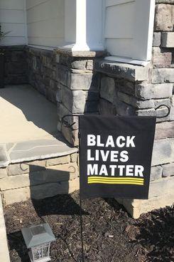 Tyndall Treehouse Black Lives Matter Garden Flag