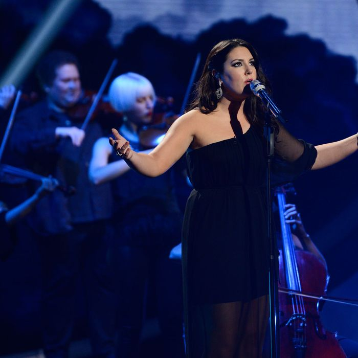 Kree Harrison performs on AMERICAN IDOL Wednesday, May 1