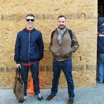 Matt Lewis and Renato Poliafito.
