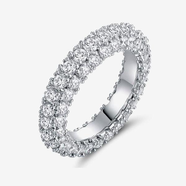 3 Row Eternity Ring