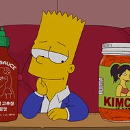 Even Bart digs on sriracha.