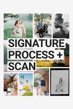 PhotoVision Signature Process + Scan