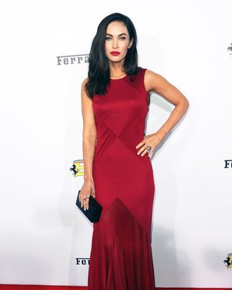 Megan Fox working the red carpet.
