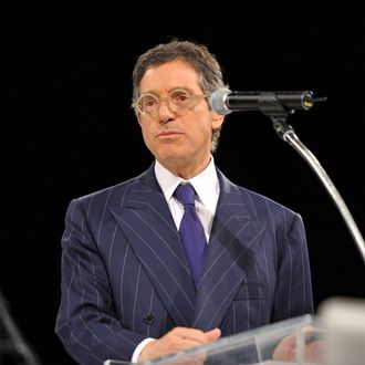 MOCA Director Jeffrey Deitch speaks at