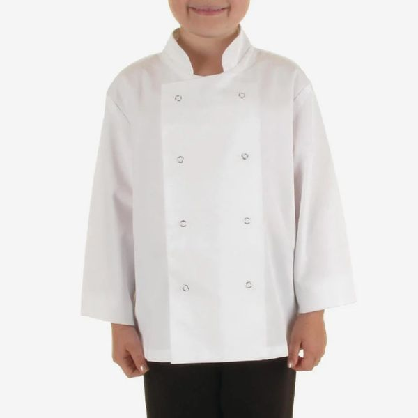 Whites Childrens Unisex Chef Jacket White