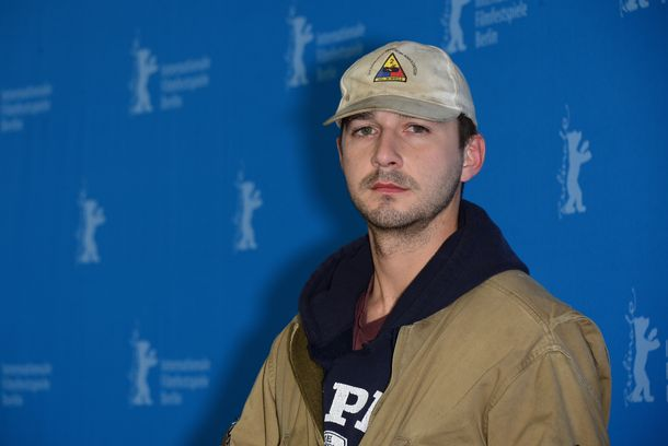 BERLIN, GERMANY - FEBRUARY 09:  Shia LaBeouf attends the 'Nymphomaniac Volume I' (long version) photocall during 64th Berlinale International Film Festival at Grand Hyatt Hotel on February 9, 2014 in Berlin, Germany.  (Photo by Dominique Charriau/WireImage)