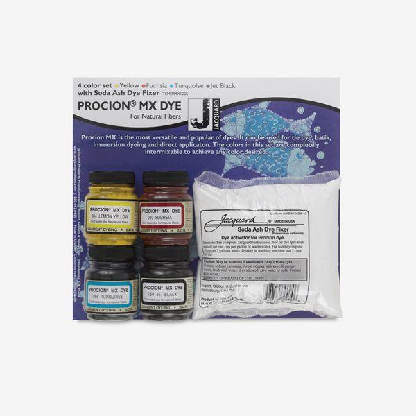 Jacquard Procion MX Fiber Reactive Cold Water Dye Starter Set