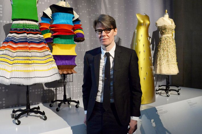 Andrew Bolton at the Costume Institute's